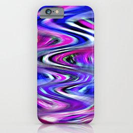 Colorful Imagination Curves iPhone Case