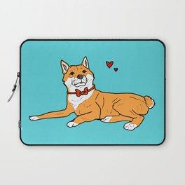 Shiba Inu Love Laptop Sleeve