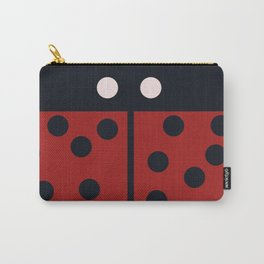 Minimal LadyBug Carry-All Pouch