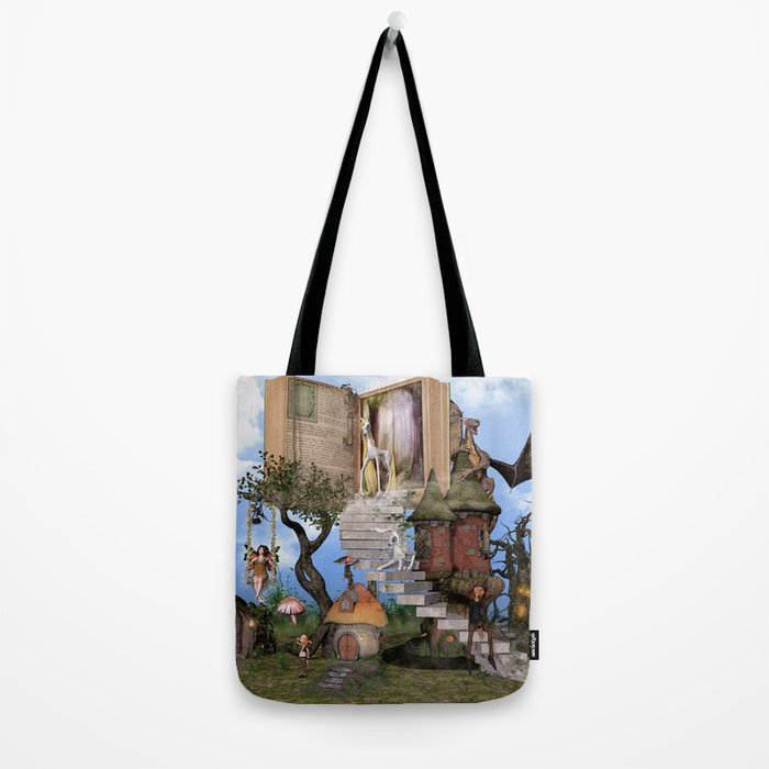 Bringing stories to life Tote Bag