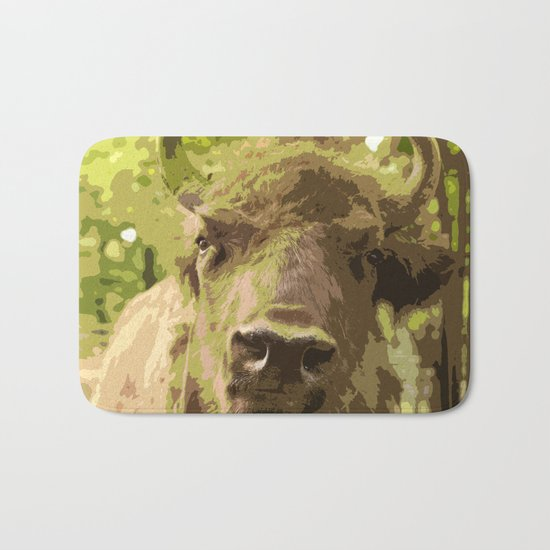 Bull Bath Mat