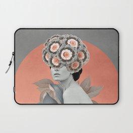 In Her Garden Laptop Sleeve