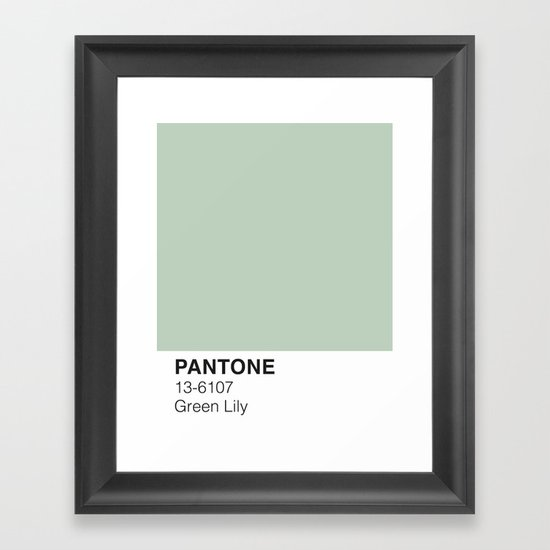 Green Lily Pantone by pineappleink