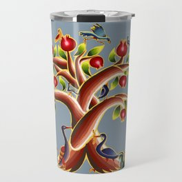 Pomegranate Tree Illumination Travel Mug