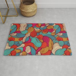 Magic water coctail Rug