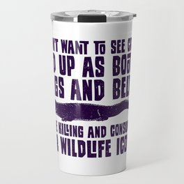 Save The Crocs Wildlife Gift For Animal Lovers Travel Mug