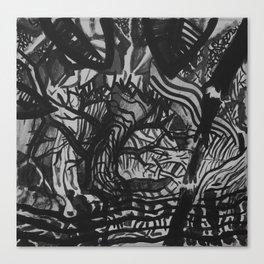 Tree/Fence Canvas Print