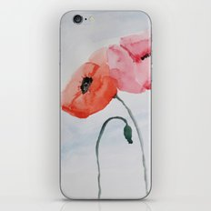 Poppies no 3 iPhone & iPod Skin
