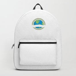 Shaping The World Geology Geologists Earth Rocks Geological Sciences Gift Backpack