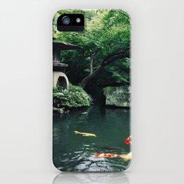 Happoen Garden iPhone Case