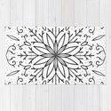 Single Snowflake - White by peppermintcreek