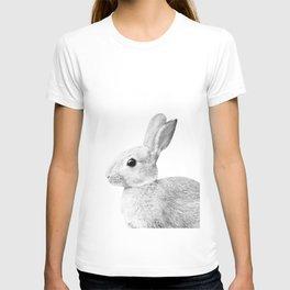 White Baby Bunny #1 #decor #art #society6 T-shirt