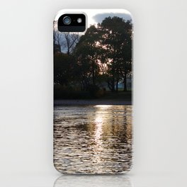Sunset over River Ness Inverness iPhone Case