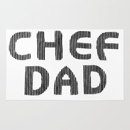 Fathers Day! CHEF DAD Rug