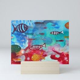 Litmus Mini Art Print