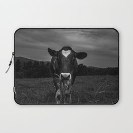 Dairy Cow Noir Laptop Sleeve