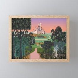 Dream for a Castle Framed Mini Art Print