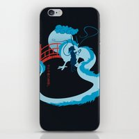 spirited away iPhone & iPod Skins featuring Spirited by IlonaHibernis