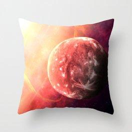 Planet Mercury Throw Pillow