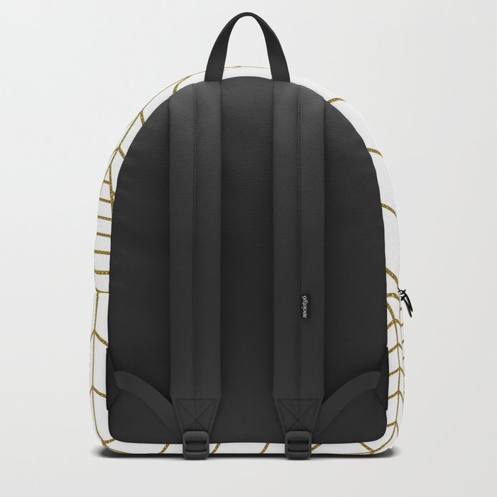 ART DECO IN WHITE Backpack