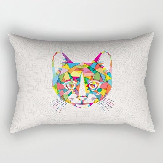 RainboCat Rectangular Pillow