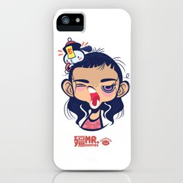 Sleepy Taoist Priest iPhone Case