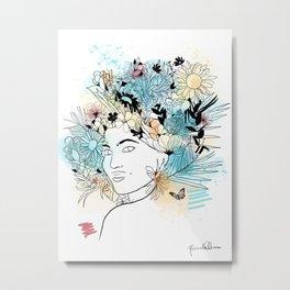 Primavera - Margarida Metal Print