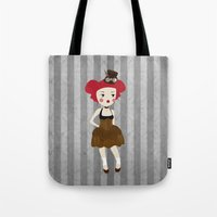 steampunk Tote Bags featuring steampunk by WreckThisGirl