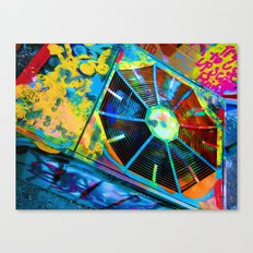 100 Dollar Bing Bang Canvas Print