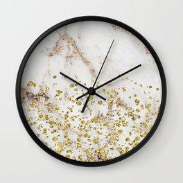 Artico golden confetti Wall Clock