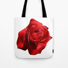 Red Rose Isolated Tote Bag