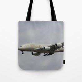Etihad Airbus A380 Tote Bag