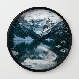 Lake Louise V Wall Clock
