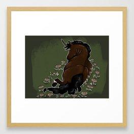 Fairy Circle Framed Art Print