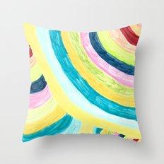 Colorways Throw Pillow