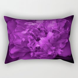 Peony In Ultra Violet Color #decor #society6 #buyart Rectangular Pillow