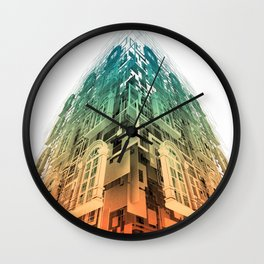 Remembrance of Things Past Wall Clock