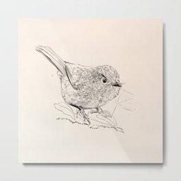Birdy2 Metal Print