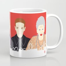 Many People In This Hotel (Faces & Movies) Mug