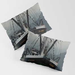Commercial Fishing Boat Photography Print Pillow Sham
