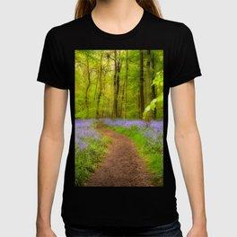 Bluebells path T-shirt