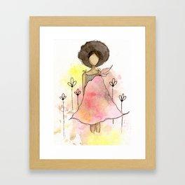 Splotch Girl - Freedom Cut Me Loose Framed Art Print
