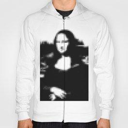 Mona Lisa pixel Hoody