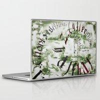 typo Laptop & iPad Skins featuring typo by Ferdane Aydın