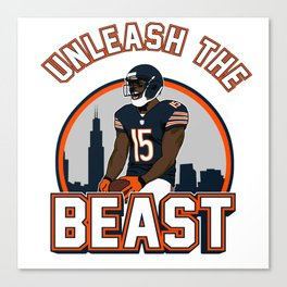 """The Victrs """"Unleash The Beast"""" Canvas Print"""