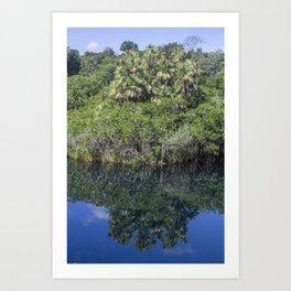 Relaxing Lagoon Art Print