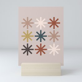 Snowflake 04 Mini Art Print