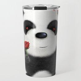 Valentine's Panda by dana alfonso Travel Mug