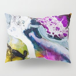 Abstract Melt V Pillow Sham