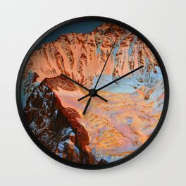 Siren Call Wall Clock